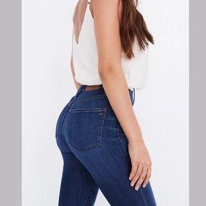 Madewell Curvy High Rise Skinny Denim Jeans